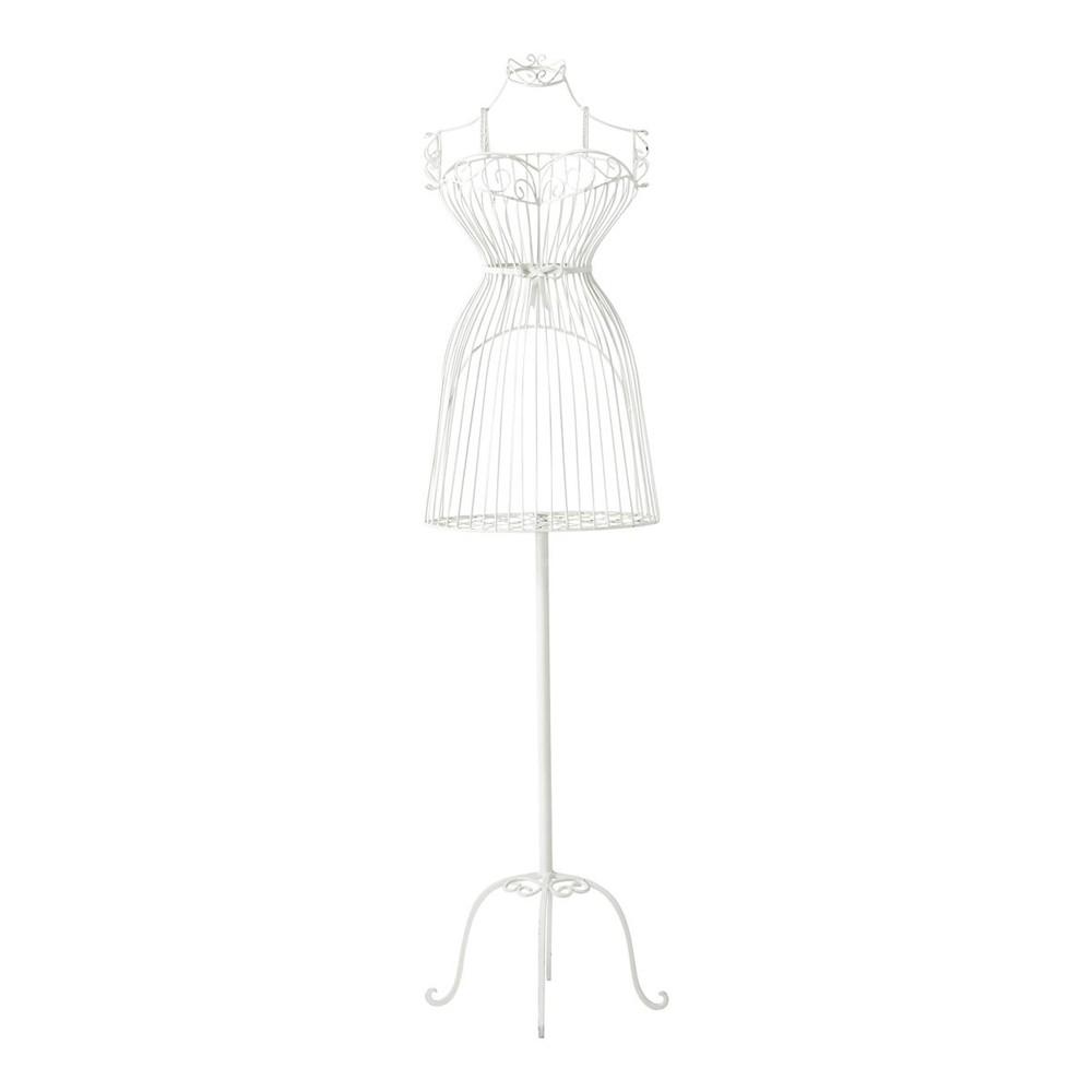 mannequin en m tal blanc h 156 cm valentine maisons du monde. Black Bedroom Furniture Sets. Home Design Ideas