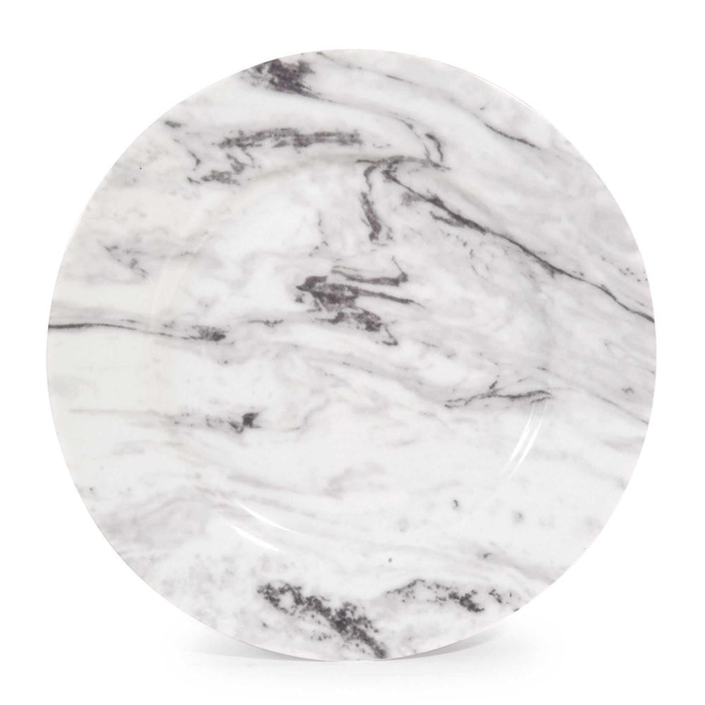 marbre china dessert plate d 19 cm maisons du monde. Black Bedroom Furniture Sets. Home Design Ideas