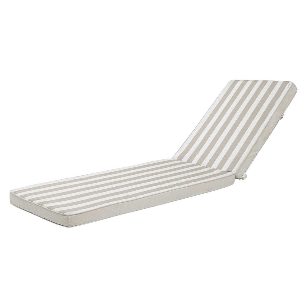 matelas ray bain de soleil en coton l 196 cm escale. Black Bedroom Furniture Sets. Home Design Ideas