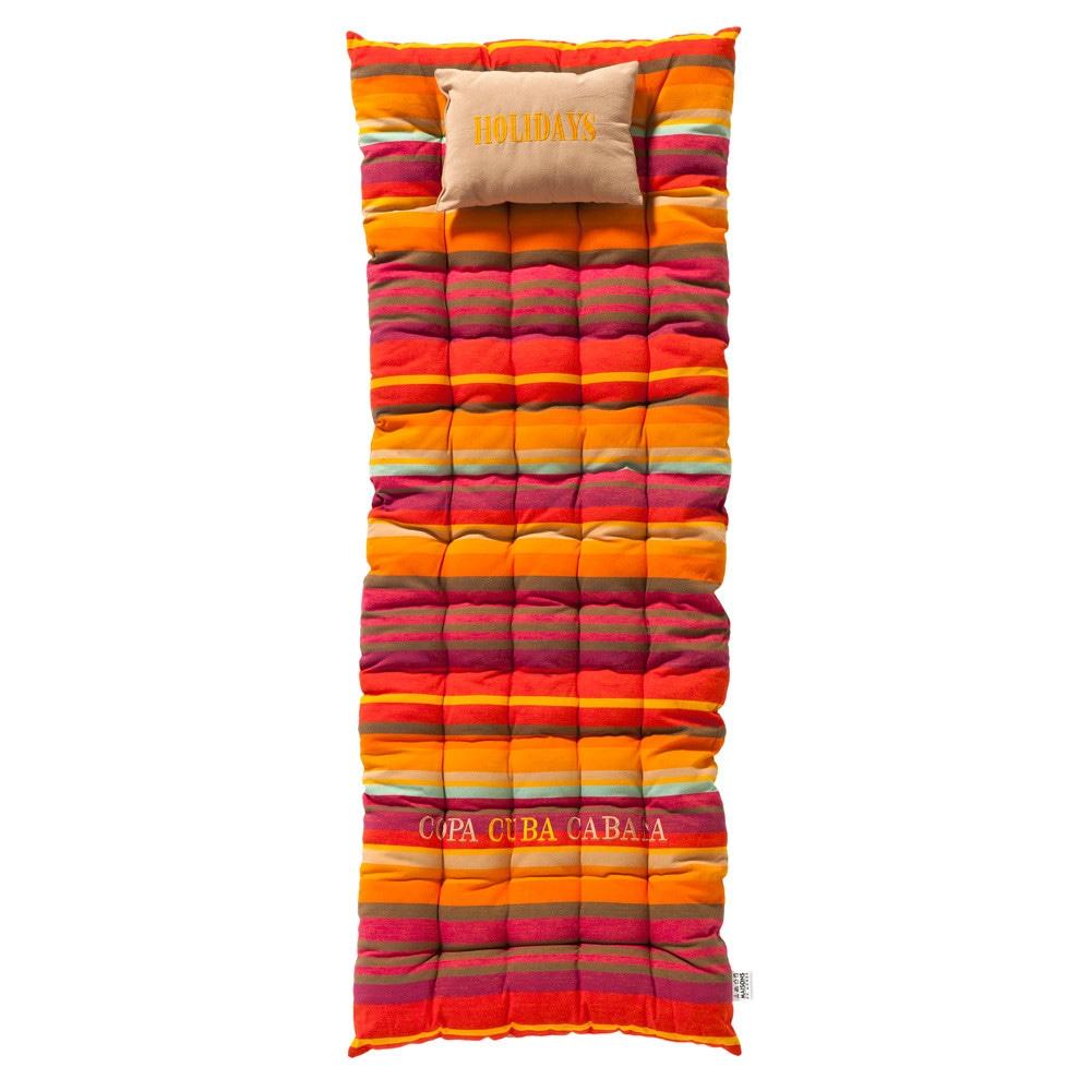 Matelas ray en coton multicolore 70 x 160 cm copacabana - Matelas maison du monde ...