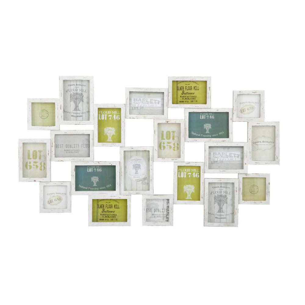 mehrfachbilderrahmen memories aus holz 52 x 89 cm maisons du monde. Black Bedroom Furniture Sets. Home Design Ideas
