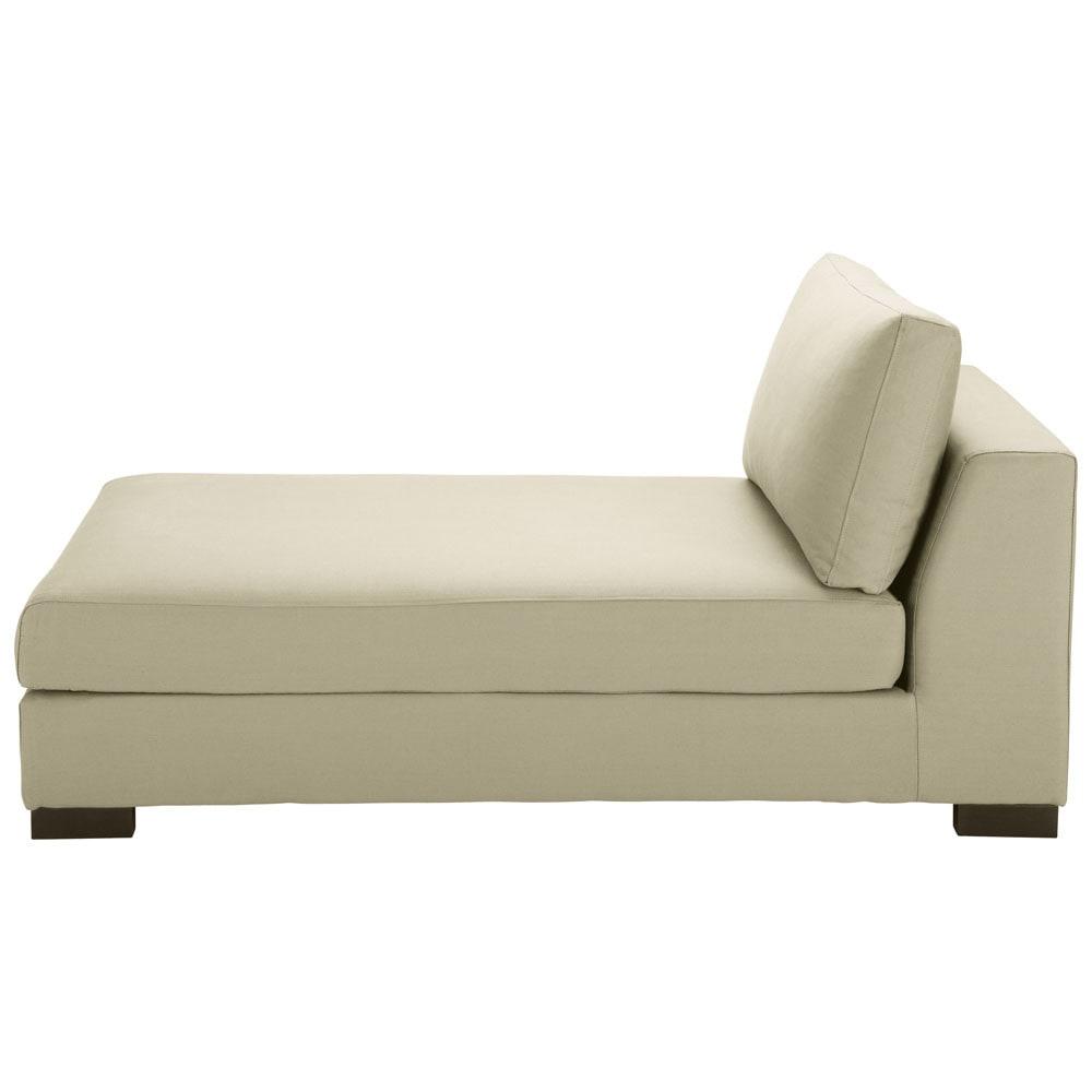 m ridienne en coton mastic terence maisons du monde. Black Bedroom Furniture Sets. Home Design Ideas