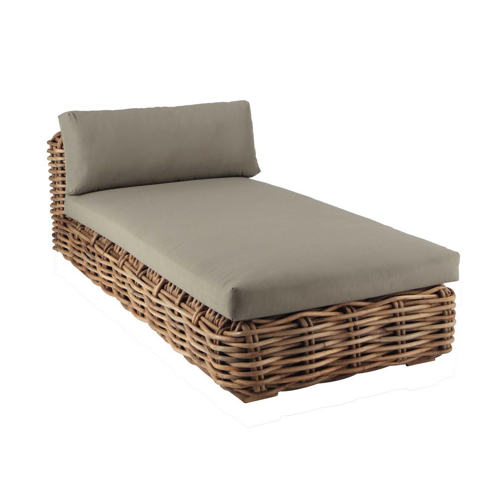 m ridienne en rotin st tropez maisons du monde. Black Bedroom Furniture Sets. Home Design Ideas