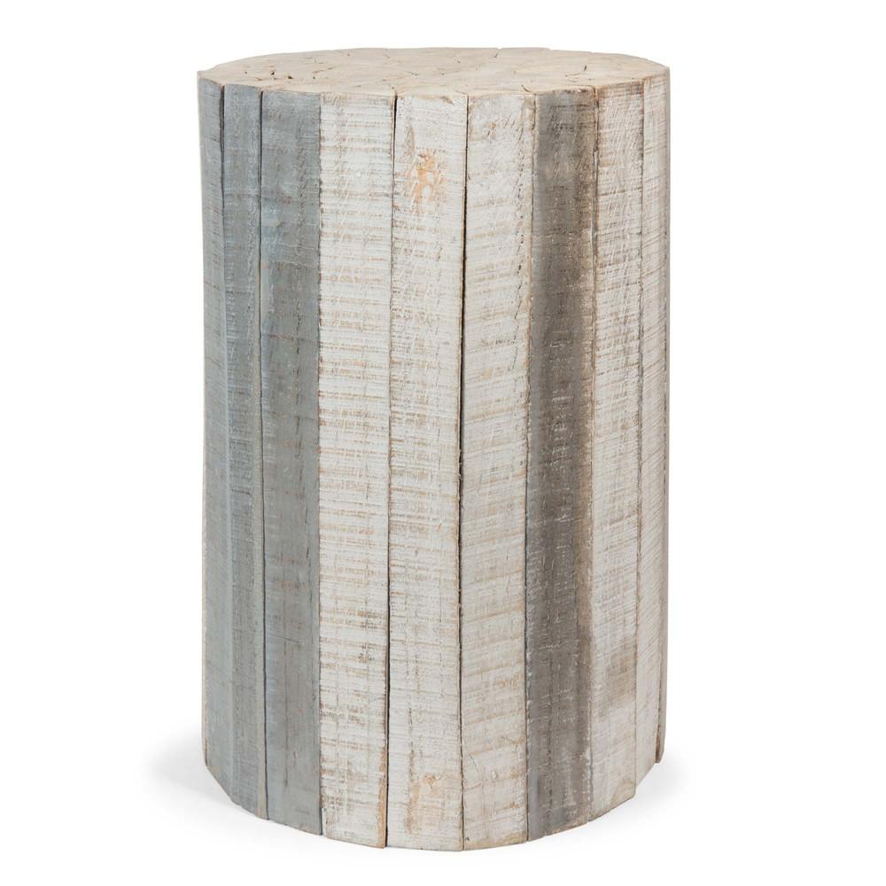 Mesa auxiliar de madera l 28 cm arctique maisons du monde - Mesas auxiliares maison du monde ...
