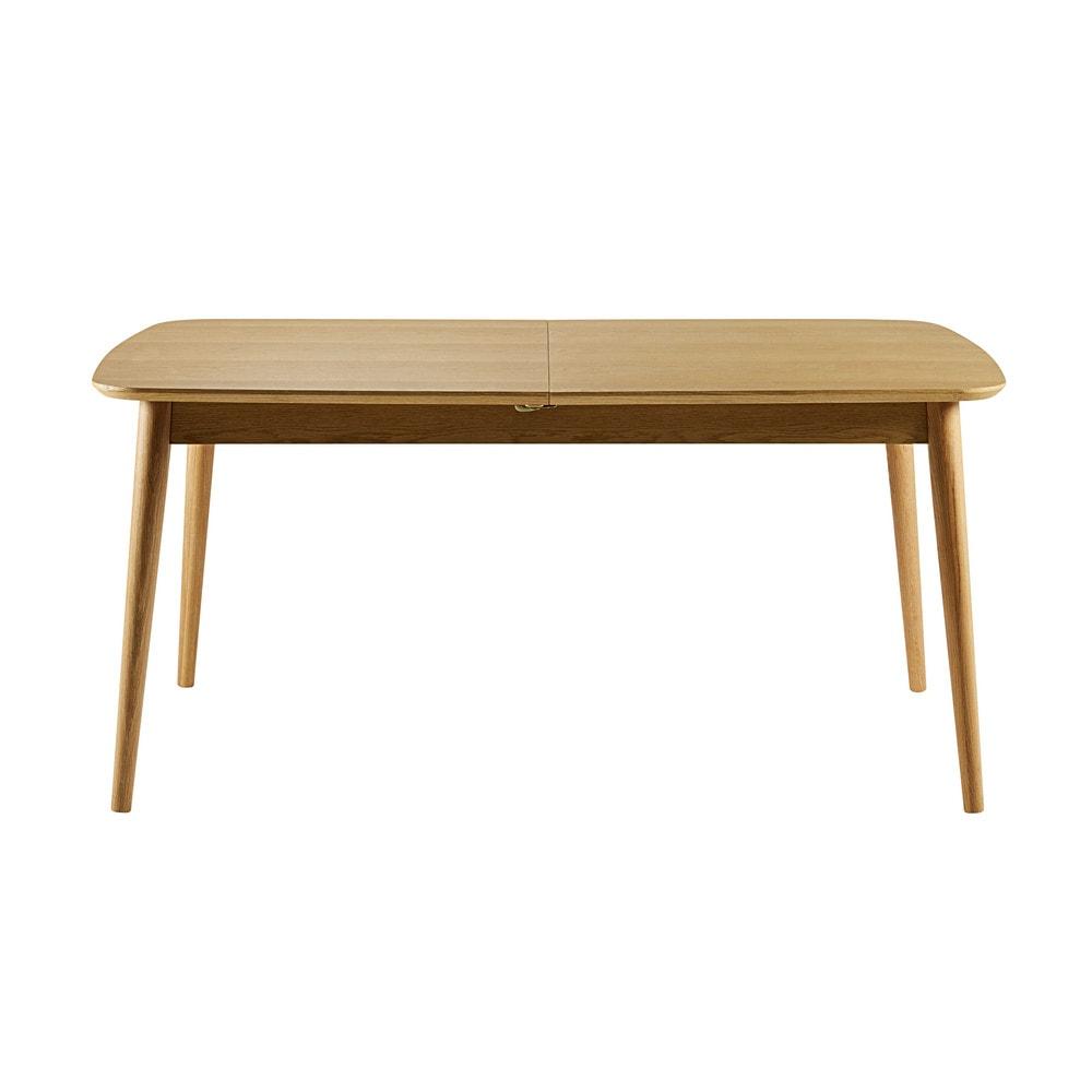 mesa de comedor extensible de 6 a 10 personas an 160 230. Black Bedroom Furniture Sets. Home Design Ideas