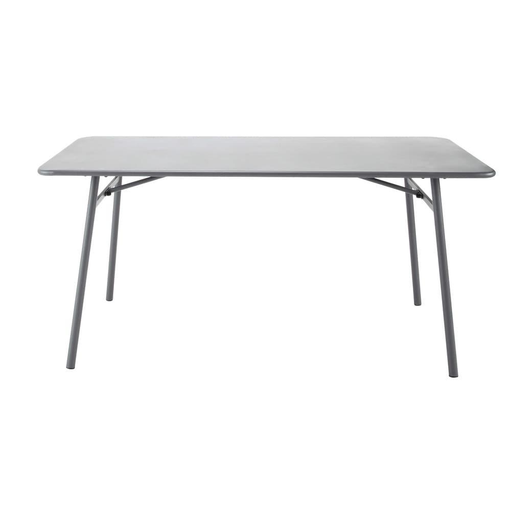 Metal garden table W 160cm Harry\'s | Maisons du Monde