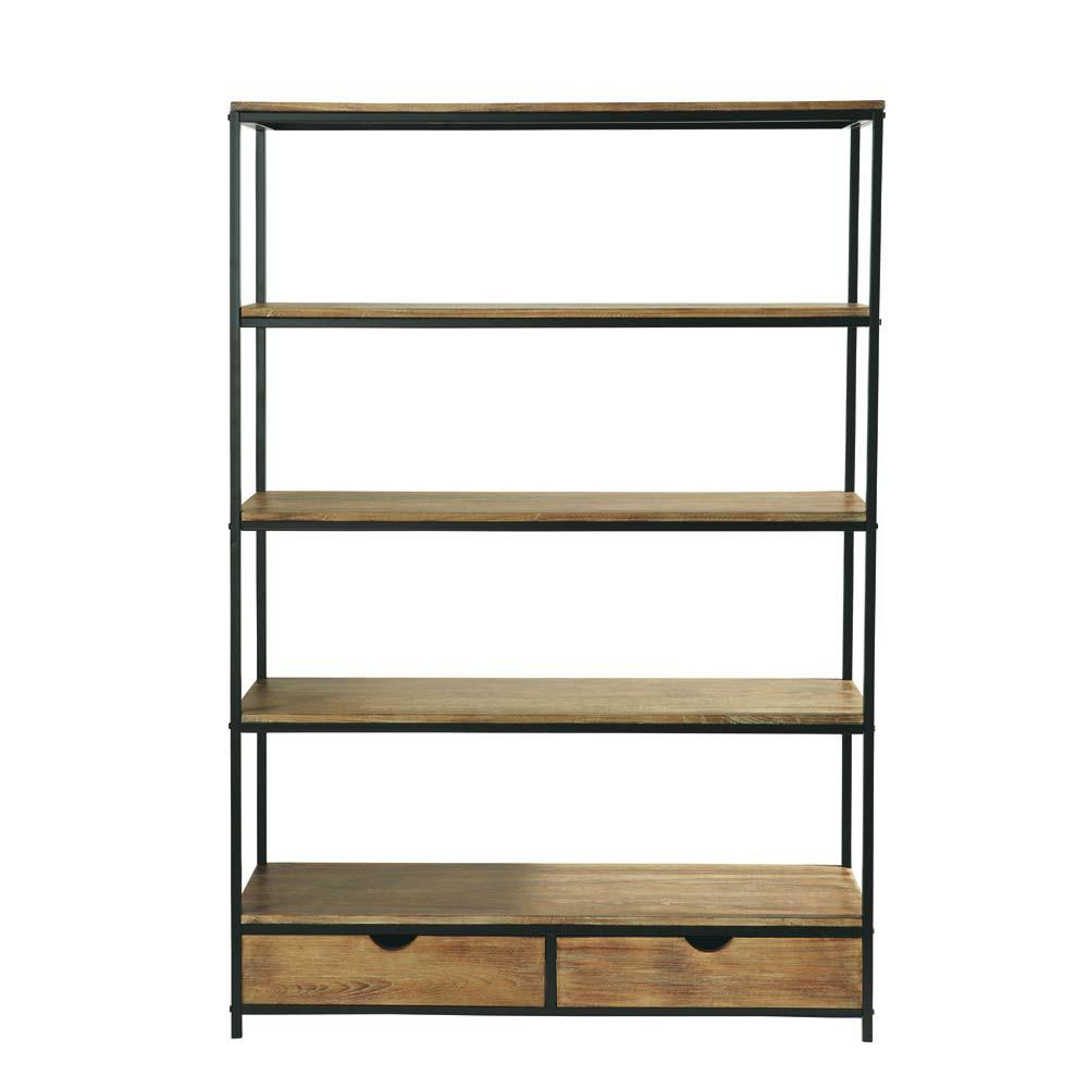metallregal im industrial stil b 130 cm long island. Black Bedroom Furniture Sets. Home Design Ideas