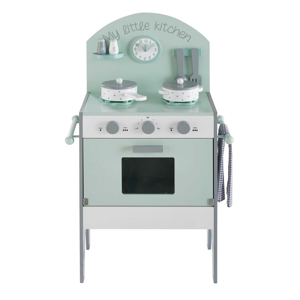 Mini cuisine enfant vert d 39 eau moonlight maisons du monde - Maison du monde cuisine zinc ...