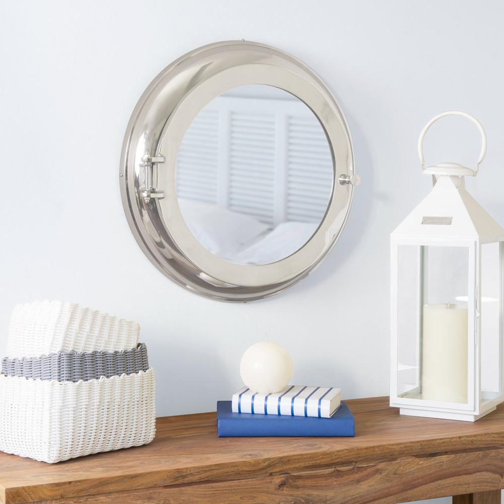 Miroir armoire croisi re maisons du monde - Miroir hublot maison du monde ...