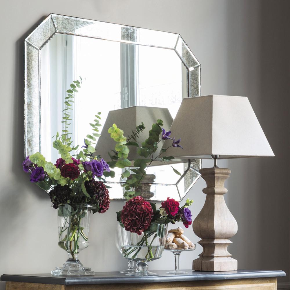 Miroir biseaut h 100 cm appoline maisons du monde for Miroir 60 x 100