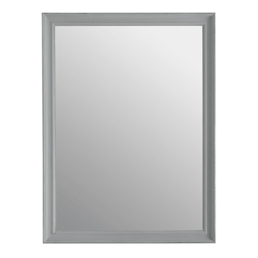 Miroir elianne gris 90x120 maisons du monde for Miroir 90x120