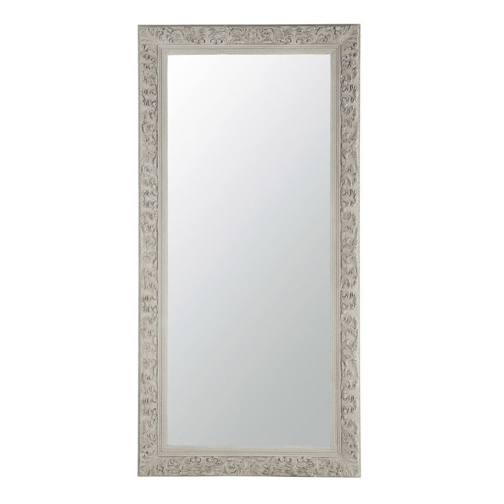 miroir en bois beige gris h 180 cm ali nor maisons du monde. Black Bedroom Furniture Sets. Home Design Ideas
