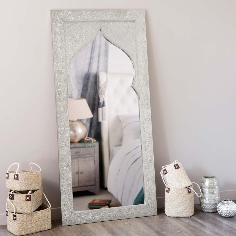 Miroir en bois h 160 cm latipur maisons du monde for Miroirs rectangulaires