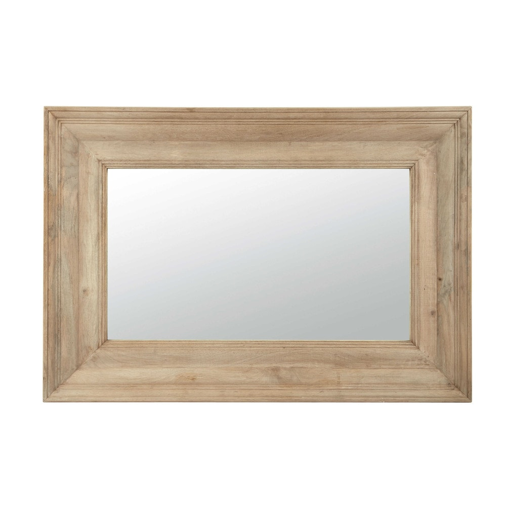 Miroir en manguier h 90 cm aristide maisons du monde for Miroir seducta 90 cm
