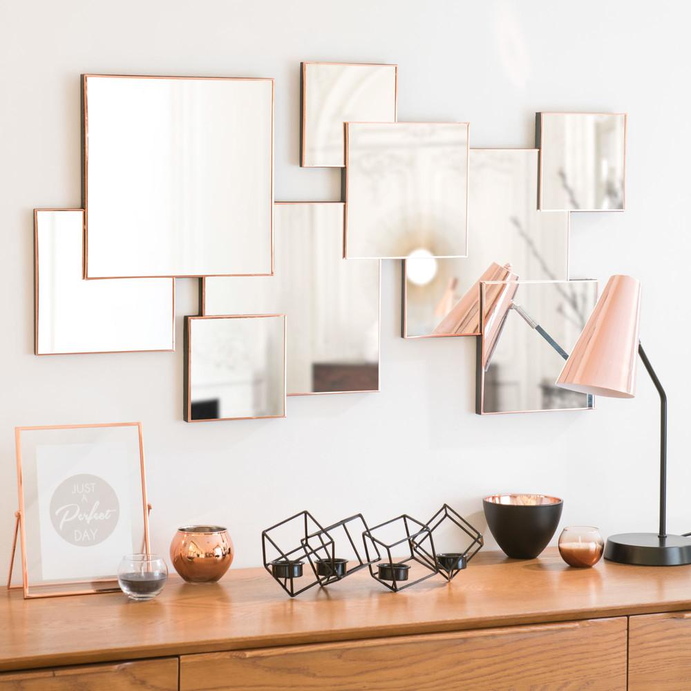 miroir en m tal 53 x 94 cm lexie maisons du monde. Black Bedroom Furniture Sets. Home Design Ideas