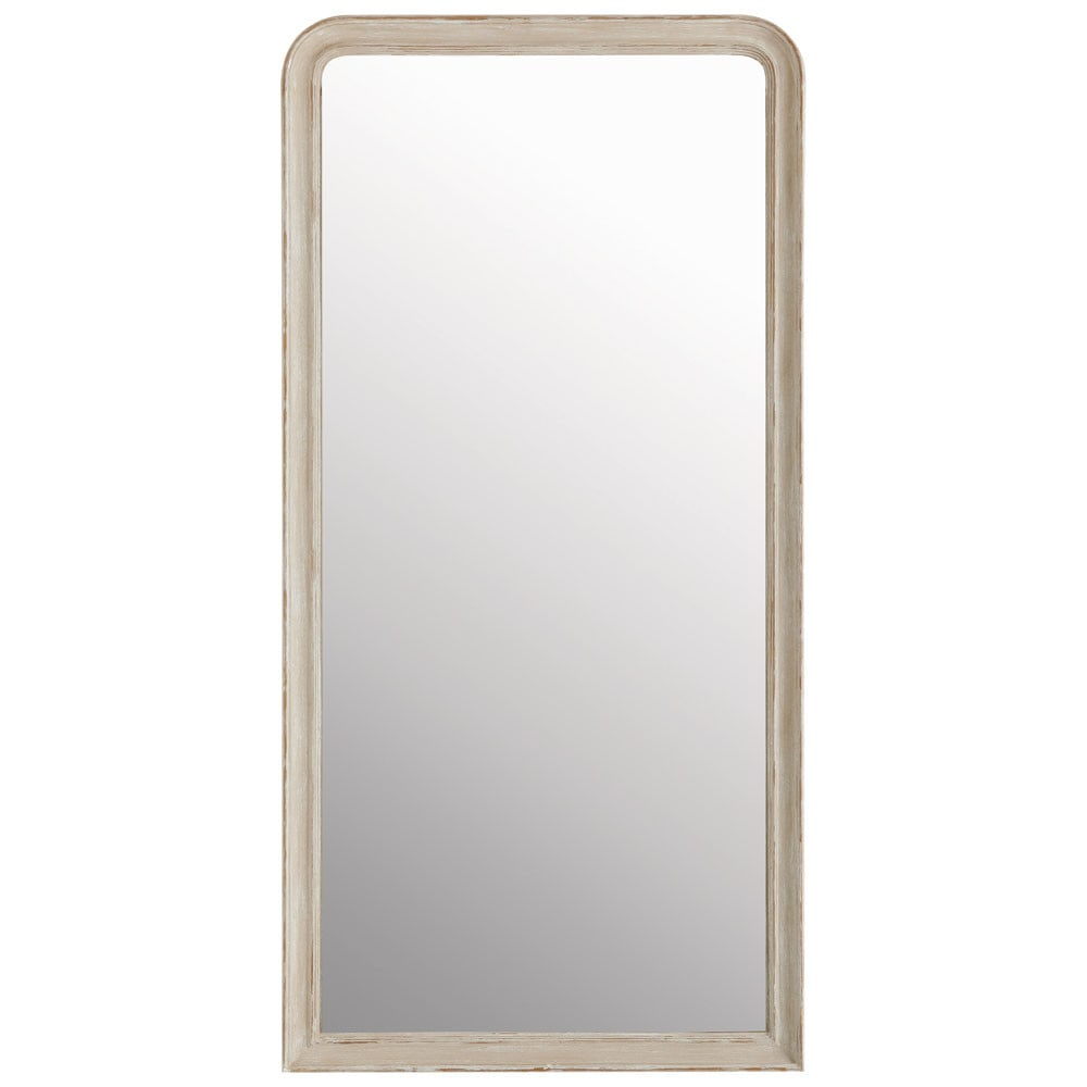 Miroir en paulownia beige 90x180 maisons du monde for Miroir 90x120