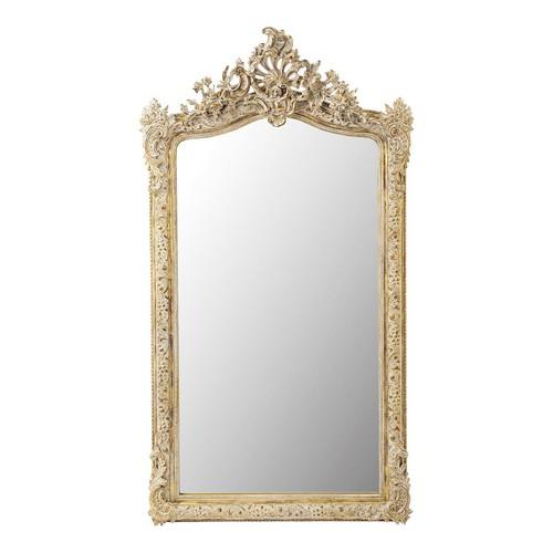 Miroir en résine dorée H 153 cm CONSERVATOIRE
