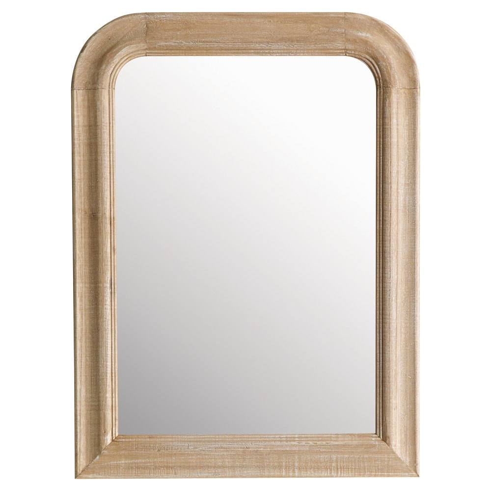 Miroir florence arrondi 60x80 maisons du monde for Miroir 60x80