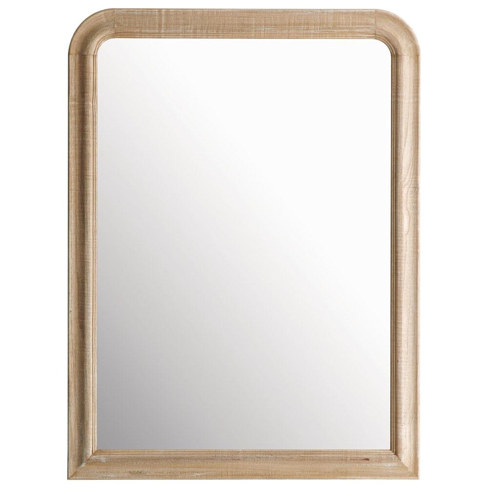 Miroir florence arrondi 90x120 maisons du monde for Miroir 90x120