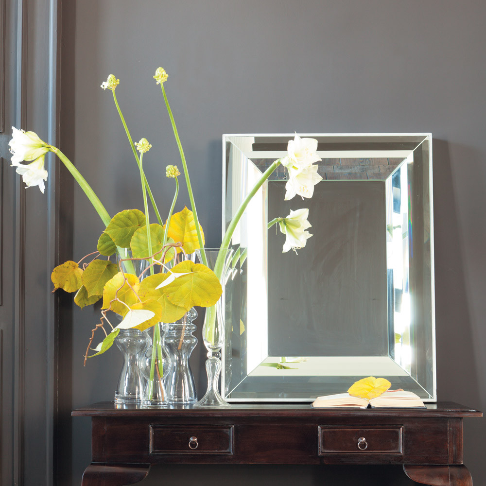 Miroir h 102 cm reflets maisons du monde for Miroir sans reflet