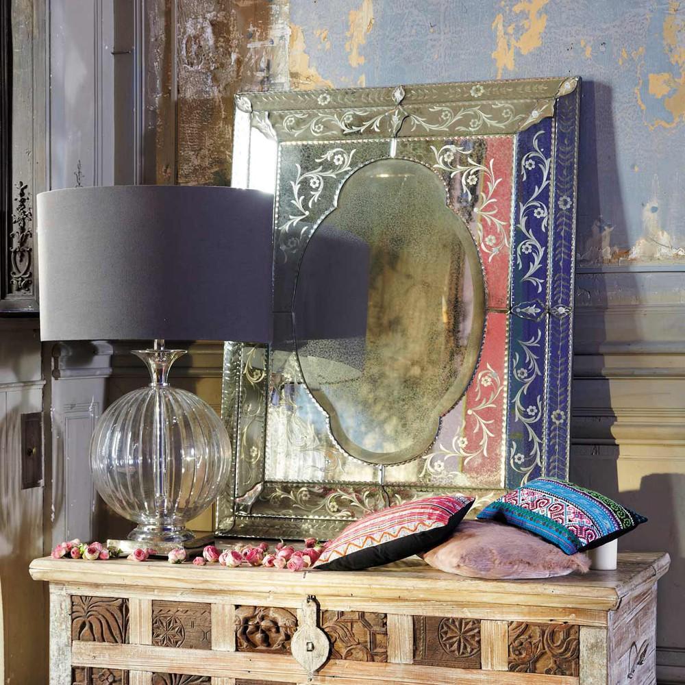 miroir isabella maisons du monde. Black Bedroom Furniture Sets. Home Design Ideas