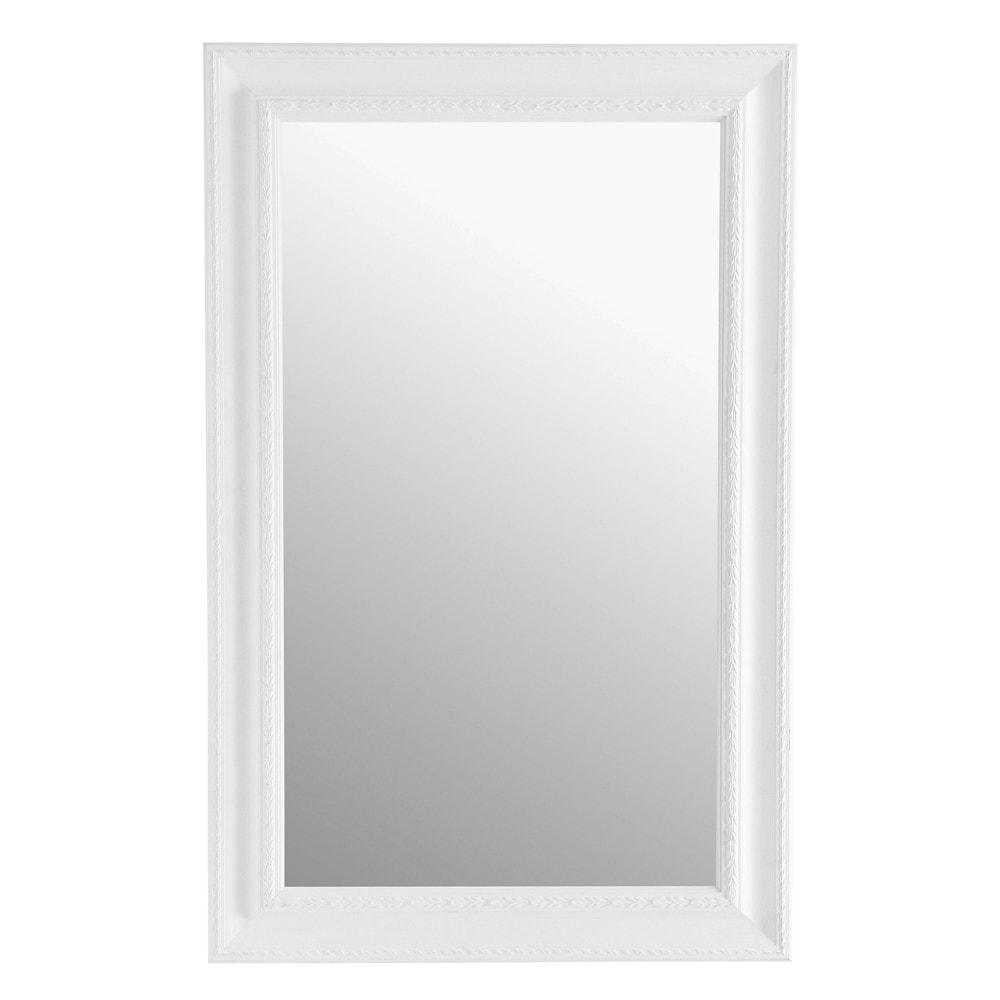 miroir l onore blanc 90x140 maisons du monde