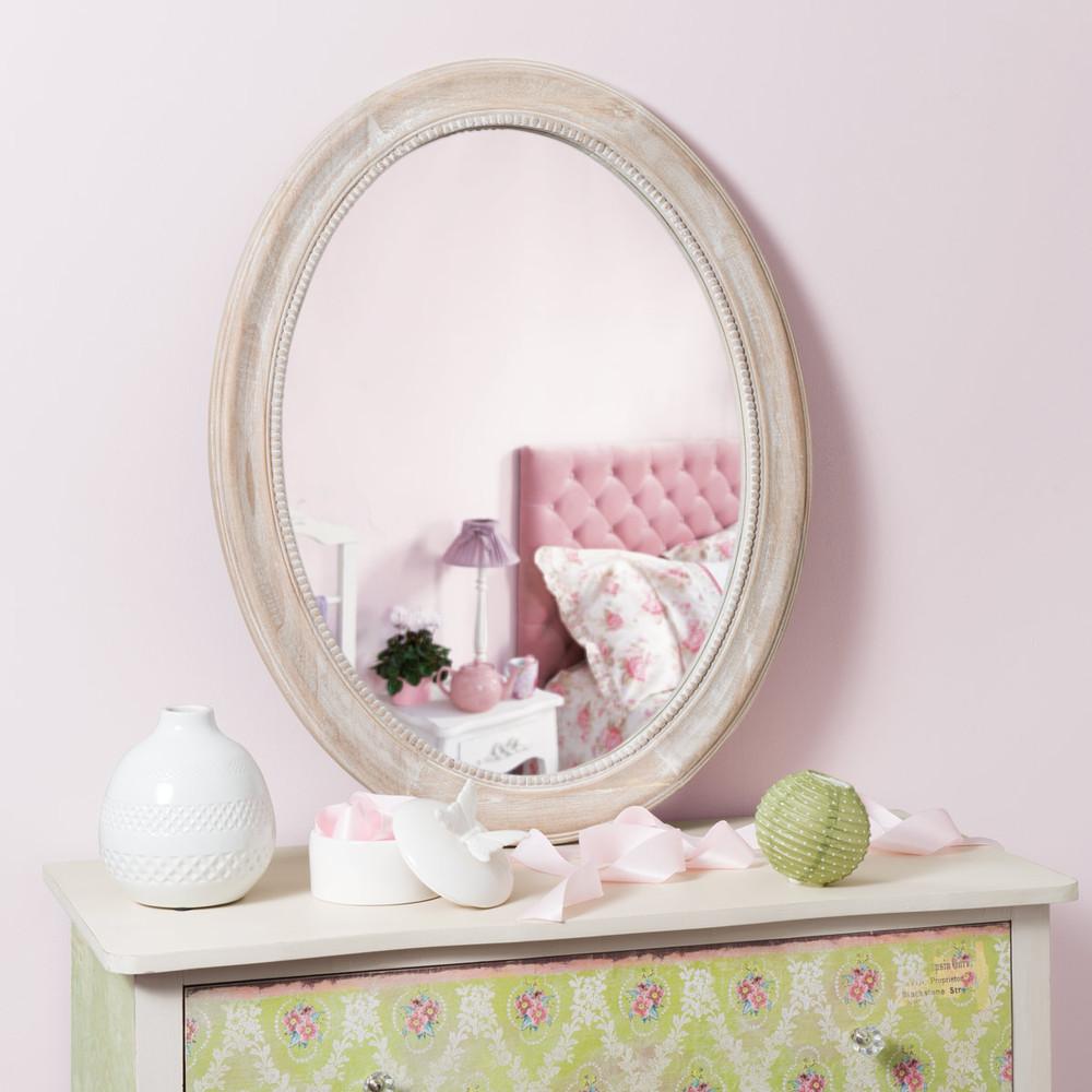 Miroir louis ovale maisons du monde - Miroir fenetre maison du monde ...