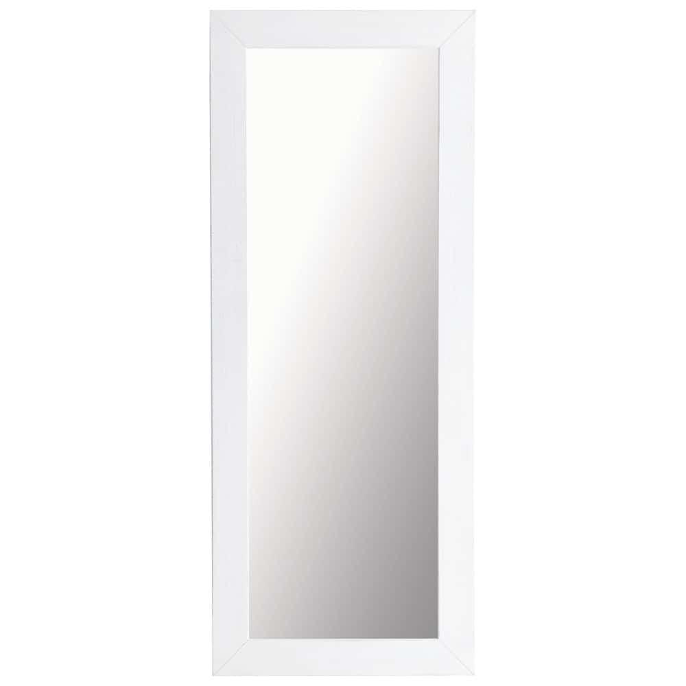 Miroir natura blanc 56x130 maisons du monde for Miroir 90x120
