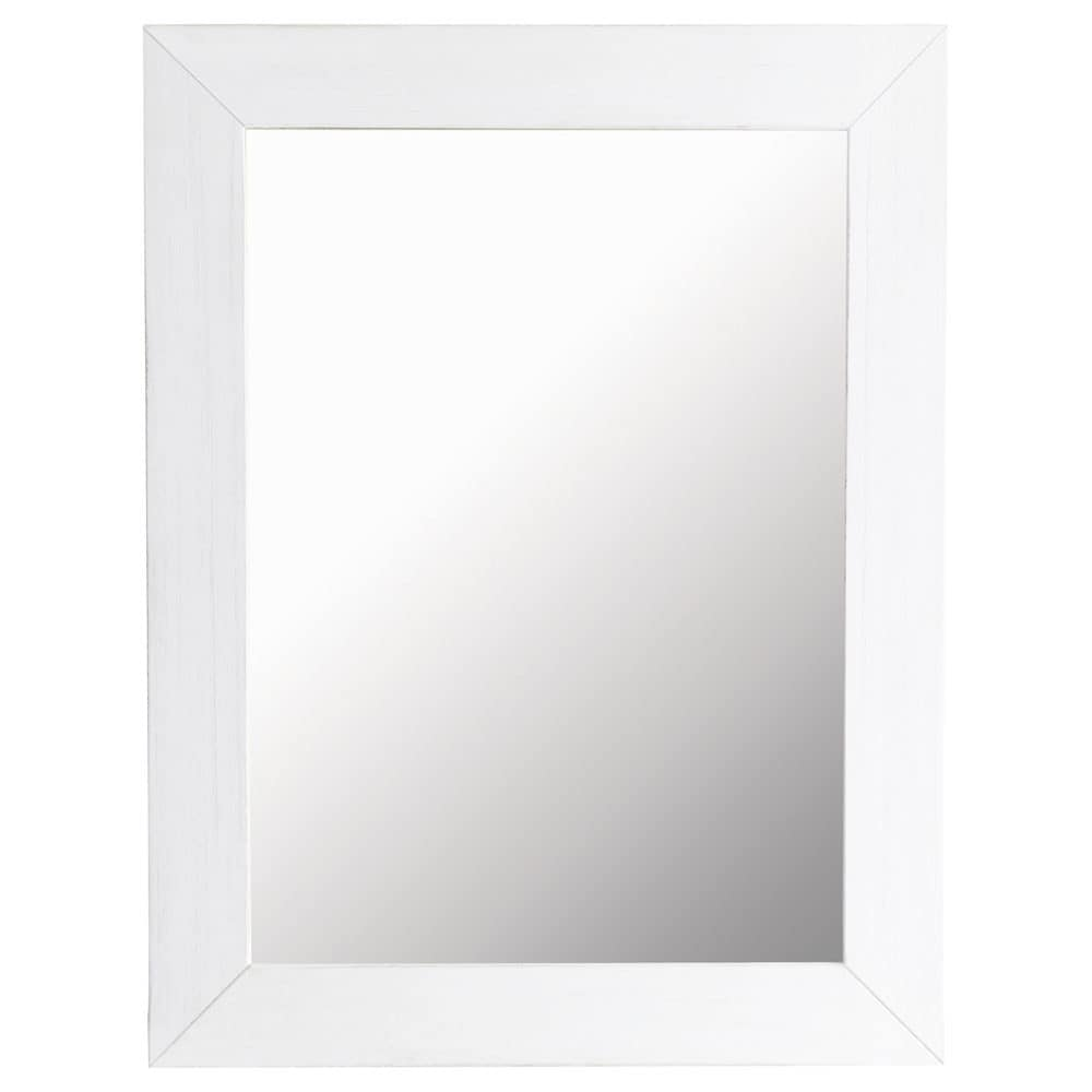Miroir natura blanc 70x90 maisons du monde for Miroir 70x90