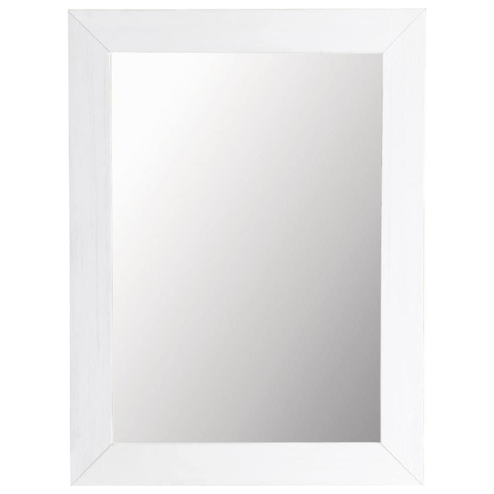 Miroir natura blanc 90x120 maisons du monde for Miroir 70x90