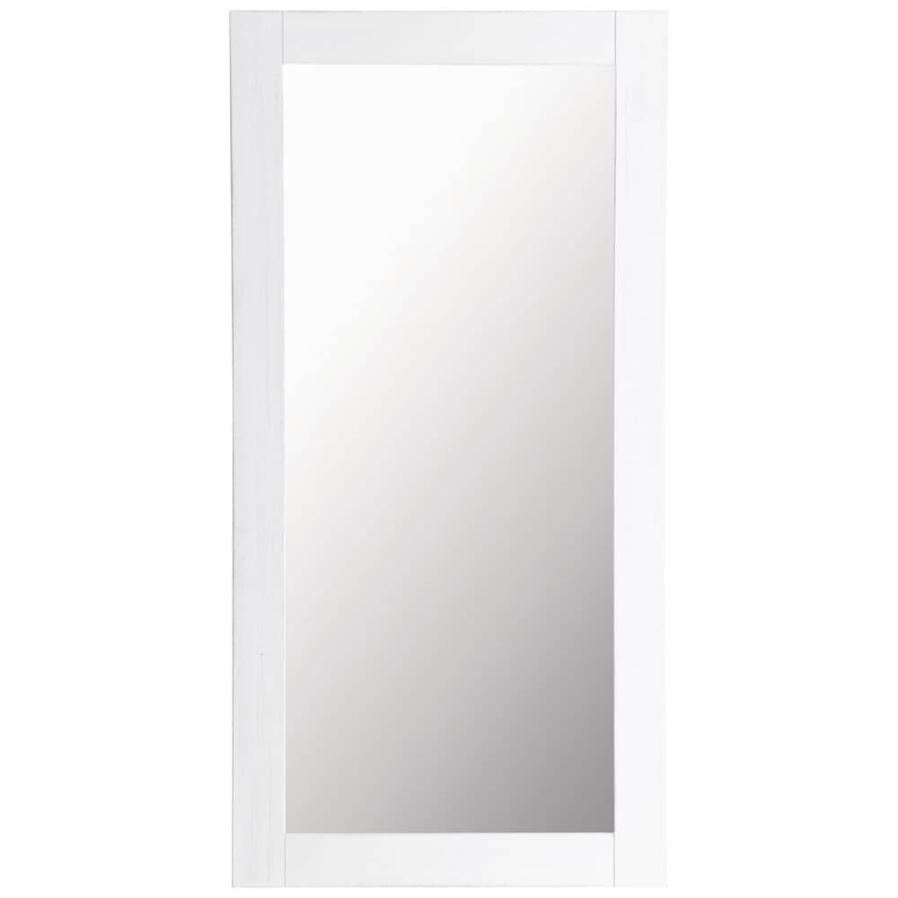 Miroir natura blanc 90x180 maisons du monde for Miroir 90x120