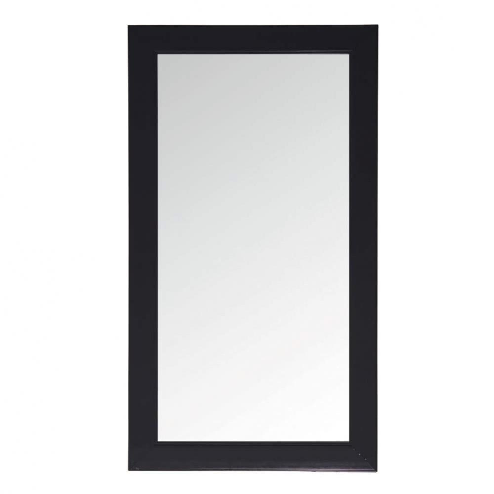Miroir noir laque maisons du monde for Miroir bord noir