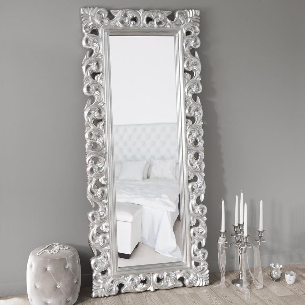 miroir rivoli silver 190x80 maisons du monde. Black Bedroom Furniture Sets. Home Design Ideas