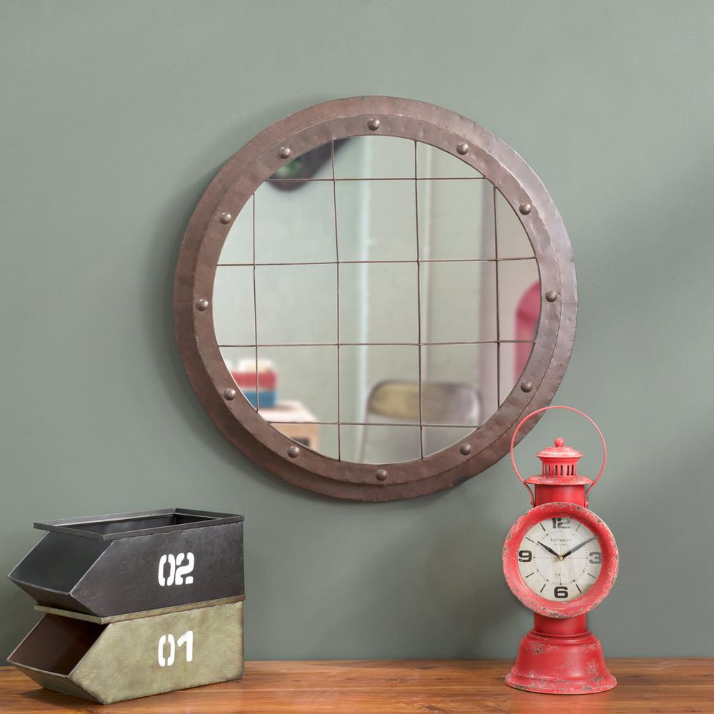 miroir rond offshore maisons du monde. Black Bedroom Furniture Sets. Home Design Ideas