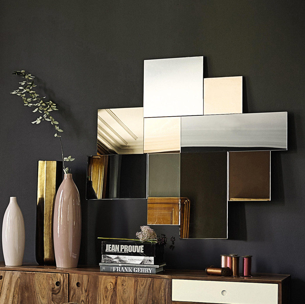 Miroir teint h 108 cm klara maisons du monde for Miroir teinte design