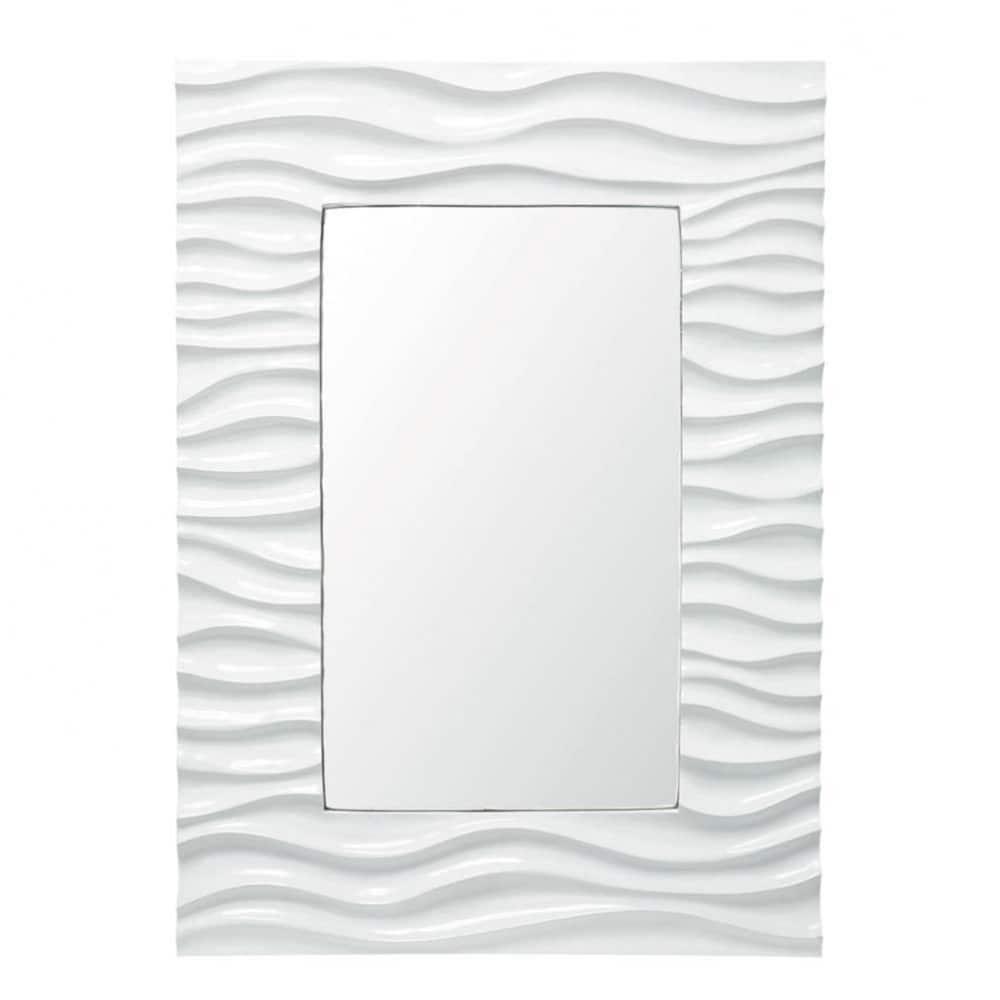 Miroir vague maisons du monde for Miroir vague