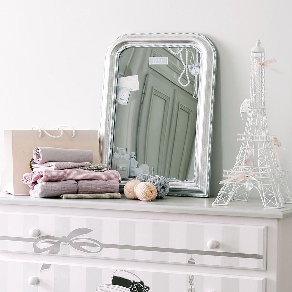 Miss paris spiegel maisons du monde - Decoratie themakamer paris ...