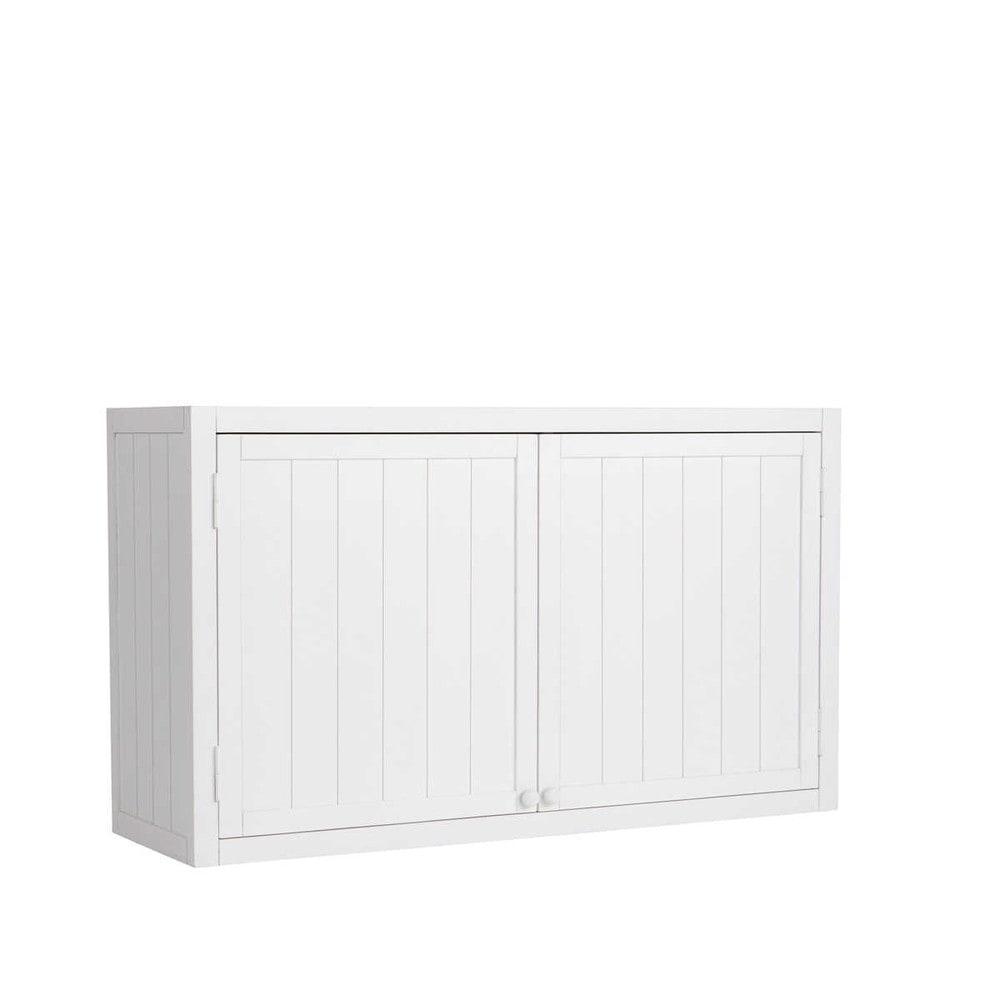 Mueble alto de cocina blanco de madera An 120 cm Newport  Maisons du