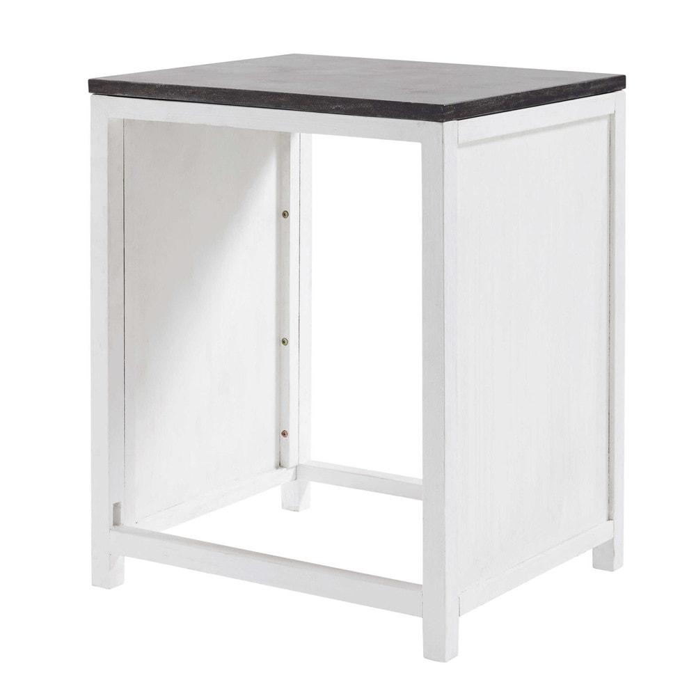 Mueble de cocina de pino reciclado para lavavajillas An 64 cm Ostende