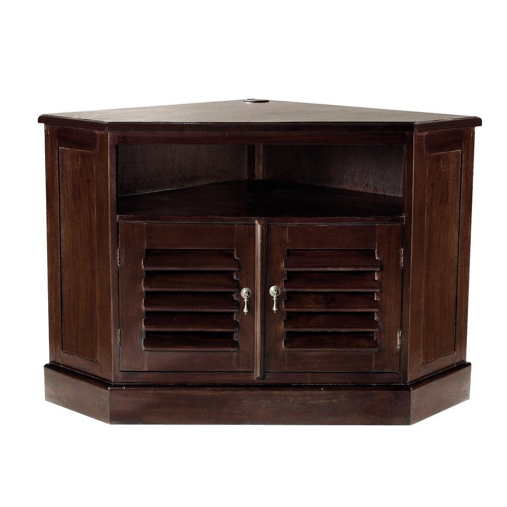 Mueble para tv en esquina for Mesa de esquinero