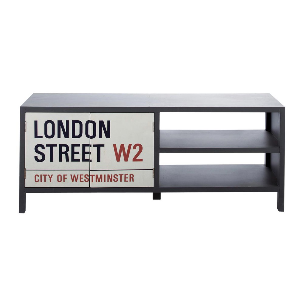 › muebles › Muebles de TV › Mueble TV gris  Street STREET