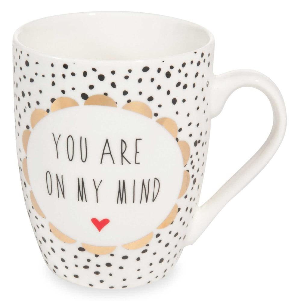 mug message en porcelaine love maisons du monde. Black Bedroom Furniture Sets. Home Design Ideas