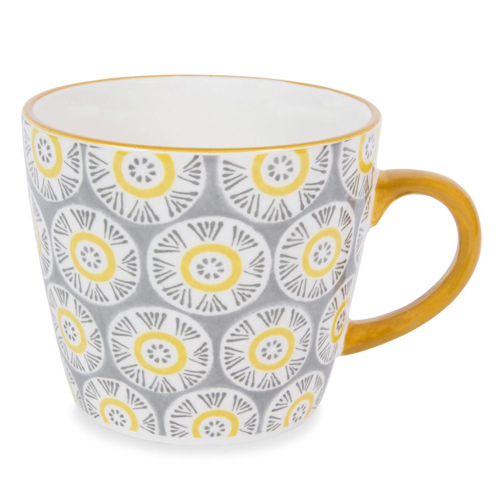 mug in maiolica grigia malaga maisons du monde. Black Bedroom Furniture Sets. Home Design Ideas