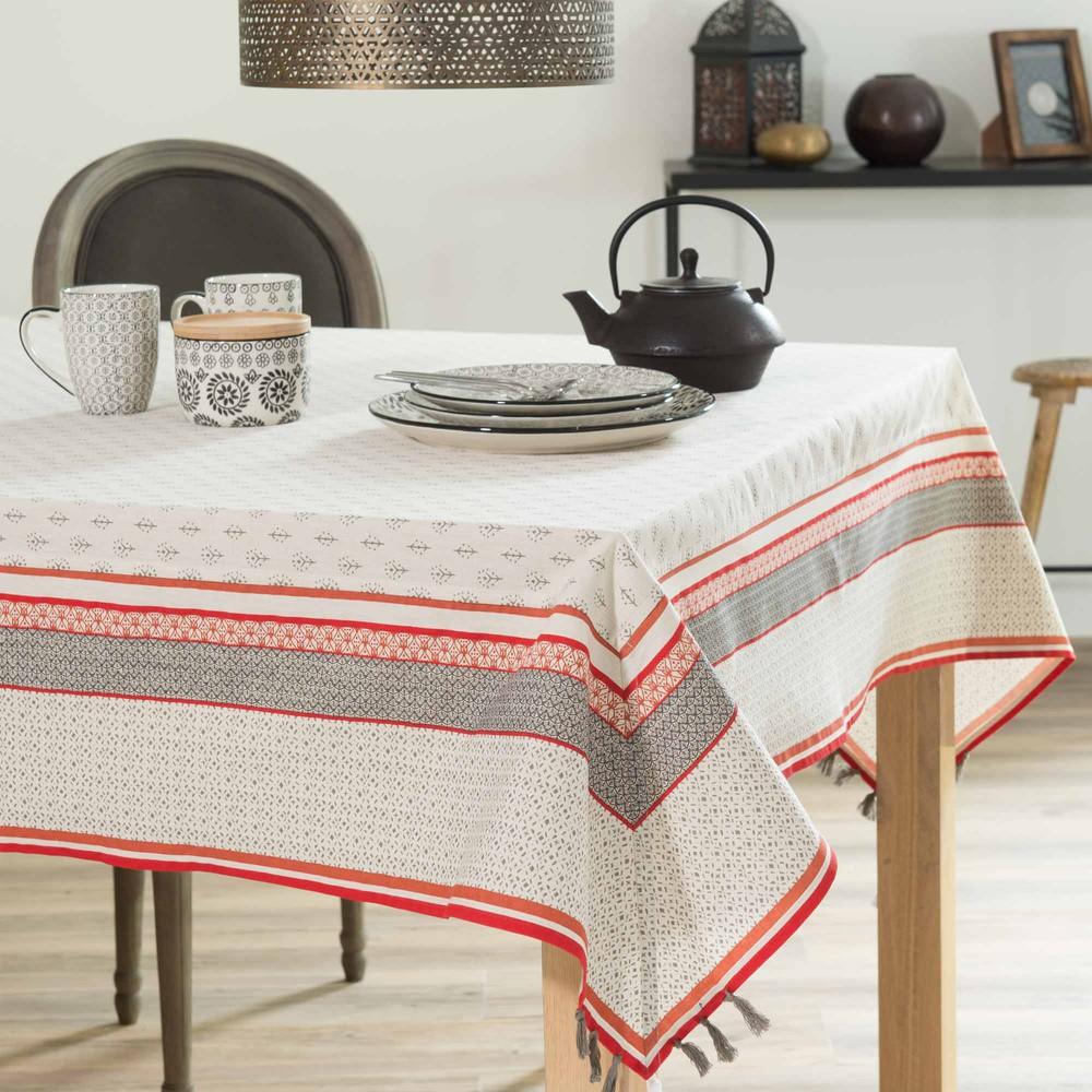 nappe en coton 150 x 250 cm elora maisons du monde. Black Bedroom Furniture Sets. Home Design Ideas