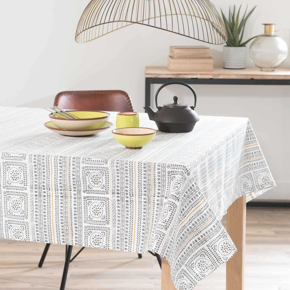 nappe en coton 150 x 250 cm hanoi maisons du monde. Black Bedroom Furniture Sets. Home Design Ideas