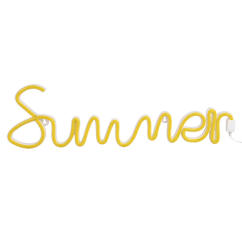 néon mural summer summer | maisons du monde