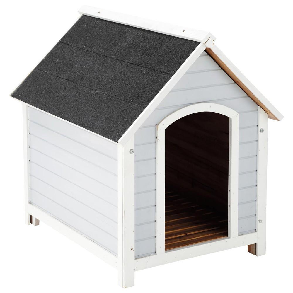 niche pour chien grise mirza maisons du monde. Black Bedroom Furniture Sets. Home Design Ideas