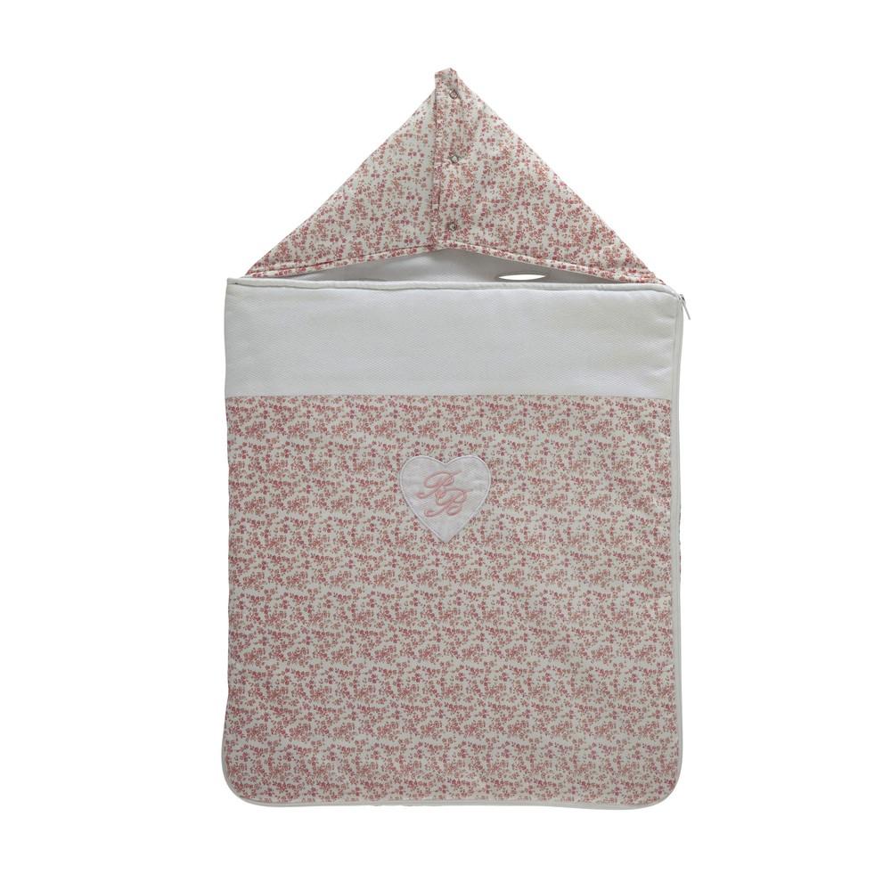 nid d 39 ange b b en coton rose h 75 cm victorine maisons. Black Bedroom Furniture Sets. Home Design Ideas