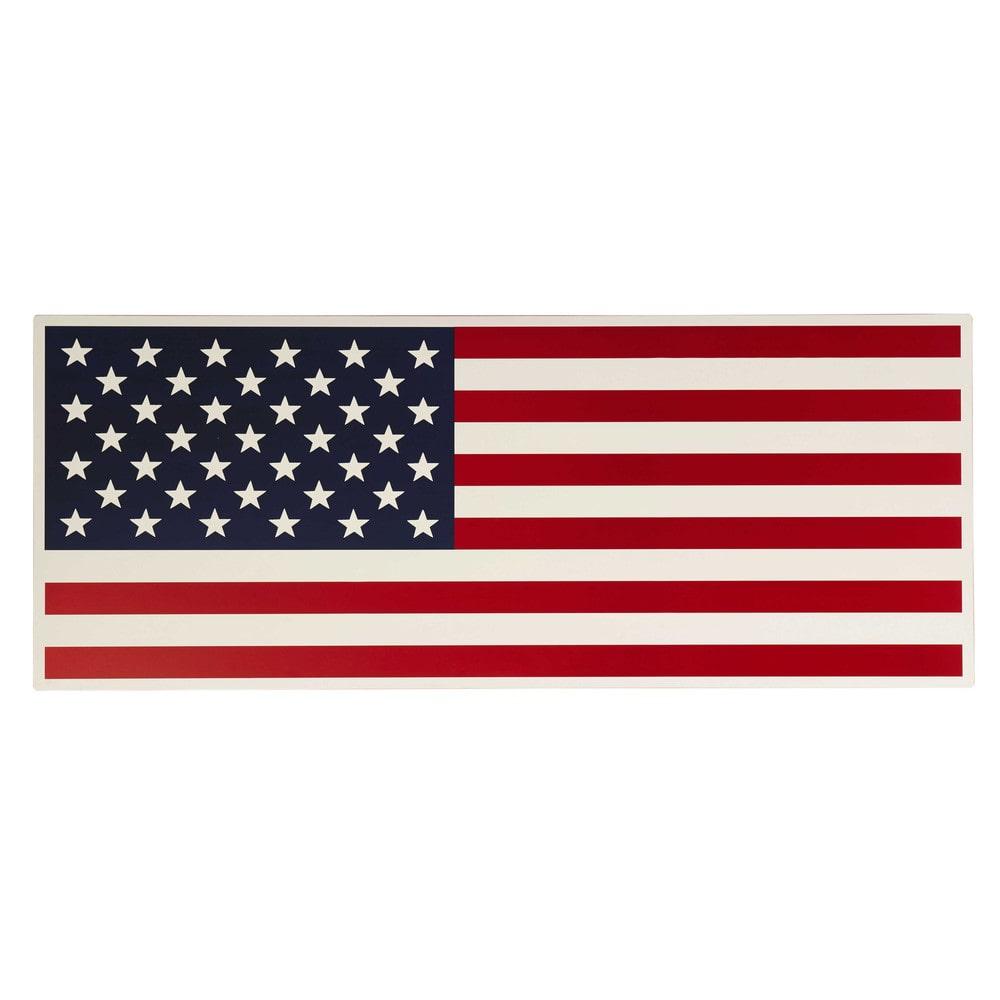 Omkeerbaar houten bureaublad rood amerikaanse vlag l 150 cm desk maisons du monde - Zoon deco kamer ...