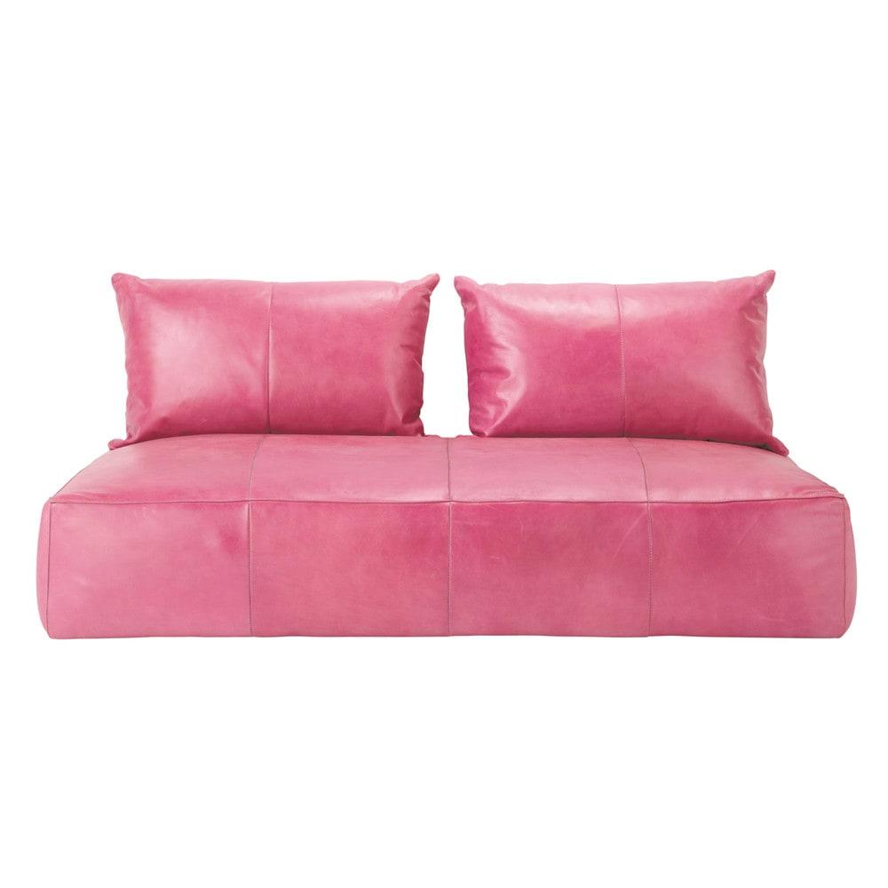 orientalische sitzbank 2/3-sitzersofa, nicht ausziehbar, leder ... - Pink Orientalisch Wohnzimmer